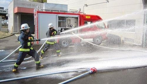 モリタホールディングスは消防車で高いシェアを持つ
