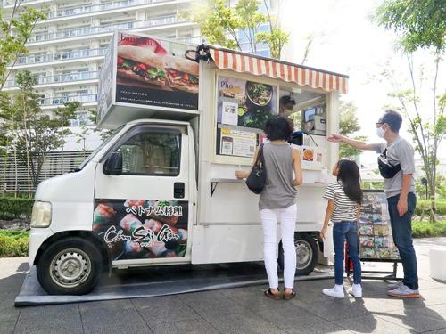 メロウが運営を支援するキッチンカーは住宅地への出店が増えている