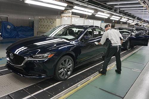 今後、防府第2工場ではEVや大型SUVの生産も視野に入れる