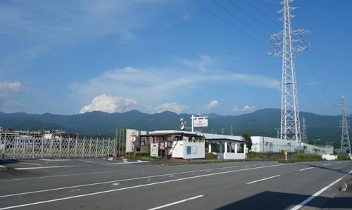 2021年夏の東富士工場跡地の様子。ウーブン・シティの建設に向けて工場の取り壊しや造成工事が進む