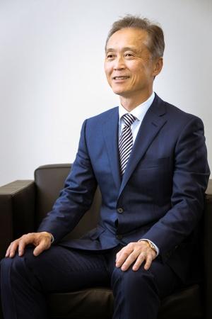 アステラス製薬の安川健司社長兼CEO(最高経営責任者)