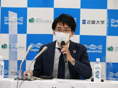 9月17日にゲノム編集マダイについて会見した梅川氏