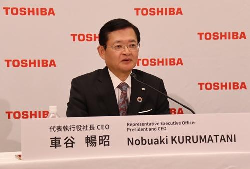 新たな中期目標を公表した車谷暢昭社長兼CEO