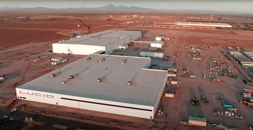 アリゾナ州の工場は最終的に年産40万台近くの巨大工場になる予定