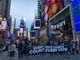 米大統領選当日、静寂のNY 接戦の結果は持ち越しへ