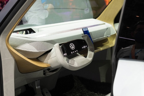 VWは約2万ユーロの新型EV「ID.ライフ」でEVの大衆化を狙う(写真:Mari Kusakari)