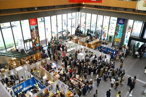 2019年4月に丸の内で開催された「生活のたのしみ展」の会場の様子