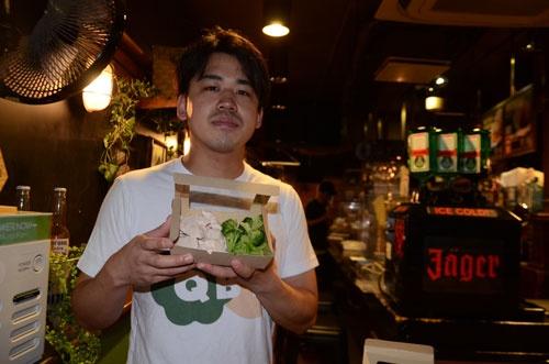 「究極のブロッコリーと鶏胸肉」渋谷店