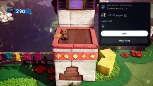 PS5ではゲーム中に、ボイスチャットに参加するかどうか、すぐに決められる(出所:SIEの公式動画)