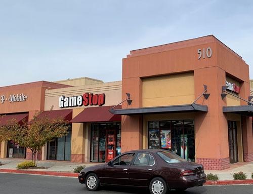 ゲームストップのカリフォルニア州シリコンバレーの店舗