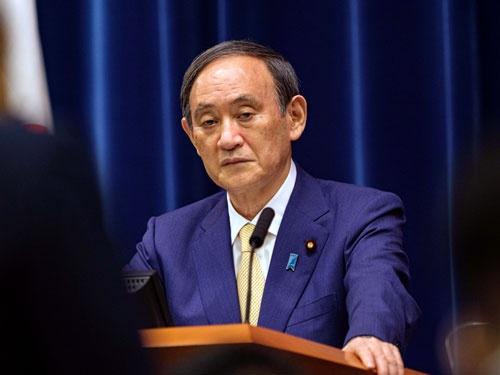 7月8日、菅義偉首相は東京都に4度目となる緊急事態宣言を発令することを発表した(POOL via ZUMA Wire/共同通信イメージズ)