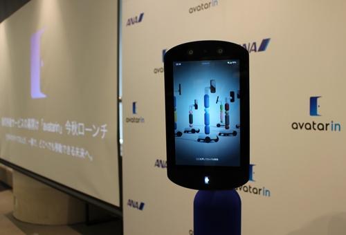 ANAHDは遠隔でロボットを動かし、疑似的に観光を楽しめるサービス「アバターイン」を本格的に始める
