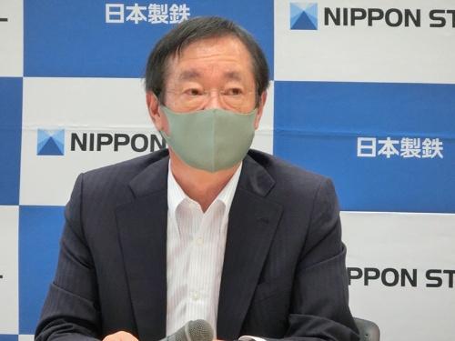 日本製鉄の橋本英二社長は中国の脱炭素製鉄技術の開発強化を警戒する