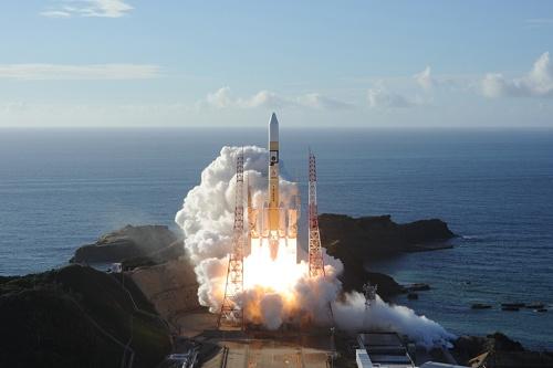 三菱重工業は20日、種子島宇宙センター(鹿児島県)でUAEの火星探査機を載せたロケットH2Aを打ち上げた(写真:三菱重工業提供)