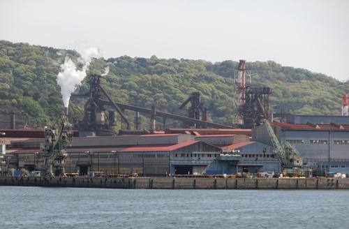 日本製鉄の呉地区の製鉄所では9月末に高炉が休止した