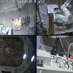 日本発ロボットが宇宙で快挙 時給500万円飛行士の省力化へ一歩