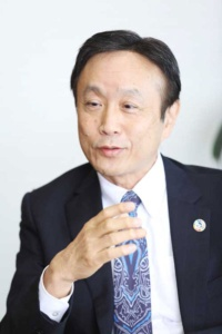 早川茂・トヨタ自動車代表取締役副会長 Chief Sustainability Officer(写真:鈴木愛子)