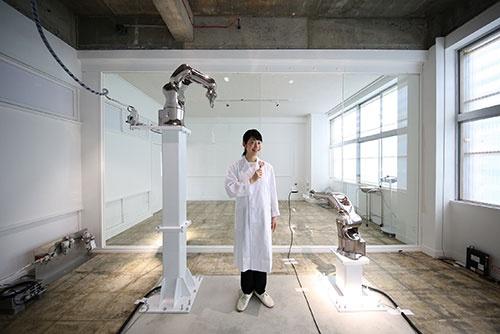 2015年の大地の芸術祭に出品した作品「新潟県産ハートを射抜くお米のスープ300円」(写真:Gentaro Ishizuka)