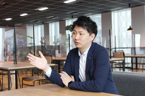 BtoCメーカー事業本部 事業企画室 室長の勝間浩之氏