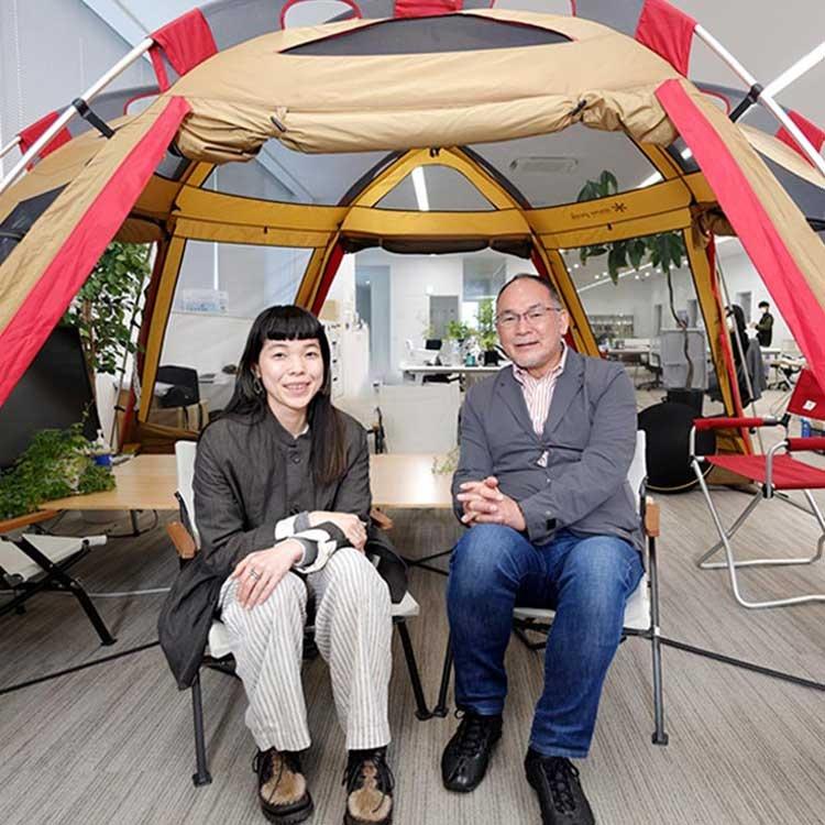 会長と社長、父娘の本音対談 コロナ後に待つスノーピークの未来
