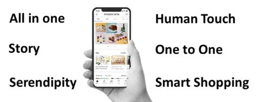 「三越伊勢丹アプリ」は20年6月9日にローンチ。オンライン接客もこのアプリを通じて申し込む