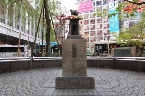 緊急事態宣言により、スタートアップが集まる渋谷でも人影が消えた(写真は4月8日撮影)