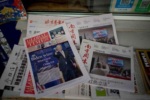 中国はバイデン政権に対し、どのような方針で臨むのか(写真:AFP/アフロ)