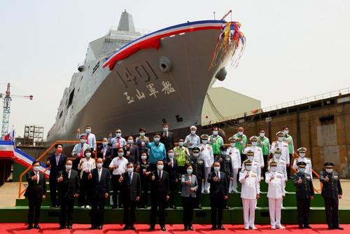 米国は、台湾の防衛費拡充を望んでいる(写真:ロイター/アフロ)