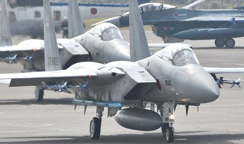 航空自衛隊の主力戦闘機F-15