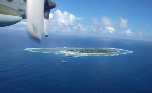 台湾が実効支配する太平島(写真:AP/アフロ)