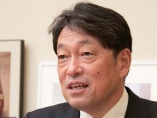 小野寺元防衛相「イージスと並ぶ『盾』は日本の技術でつくれる」