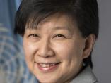 中満泉・国連事務次長「若者・女性を変革の主役にする勇気を」