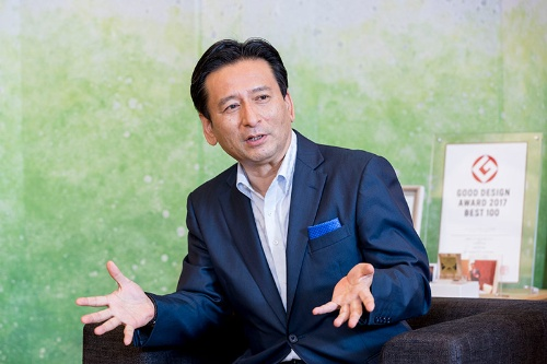 山口 祥義(やまぐち・よしのり)氏 佐賀県知事。1965年生まれ。東京大学卒業後、自治省(現・総務省)に入省。JTB総合研究所などへの出向も経験したのち、2015年に佐賀県知事に就任(写真:諸石信)