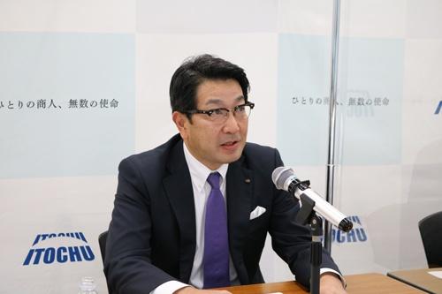 伊藤忠商事の次期社長に就任する石井敬太専務執行役員