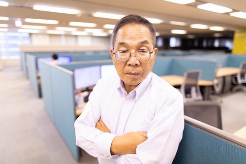 紫光集団で高級副総裁を務める坂本幸雄氏(写真:北山宏一)