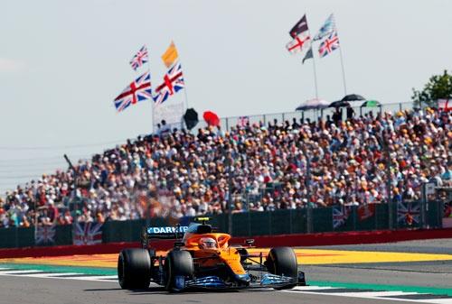 フォーミュラ・ワン(F1)の英国GPの決勝には、14万人が観戦に押し寄せた(写真:ロイター/アフロ)
