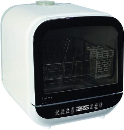 約6Lの水で12点(家族2~3人分)の食器を洗えるエスケイジャパンの「Jaime(ジェイム) SDW-J5L」(実勢価格4万3800円)