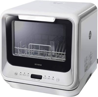 約5Lの水で16点(家族3人分)の食器を洗えるシロカの「SS-M151」(実勢価格5万4800円)
