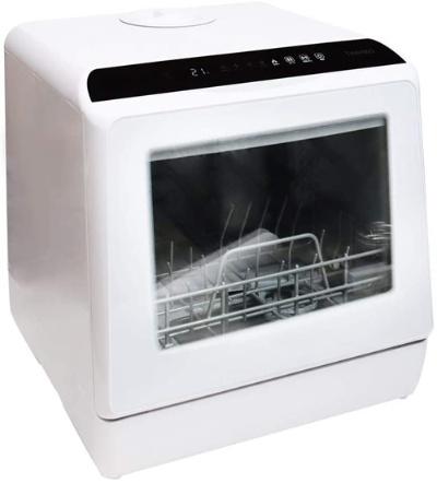 約5Lの水で17点(家族3人分)の食器を洗えるサンコーの「ラクア STTDWADW」(実勢価格3万9800円)