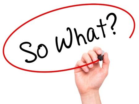 自分が知りたい「問い」を立てるには、「so what(だから何なの)」と考えていく(写真:PIXTA)