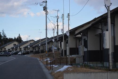 被災者の住む根柄山団地。震災から10年という節目に、一人ひとりの思いは複雑だ