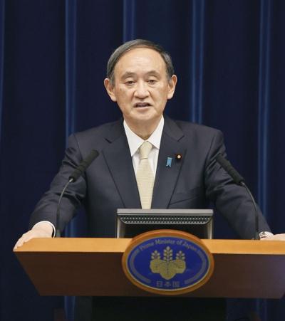 菅義偉首相はワクチン確保の失敗を認めている(写真:共同通信)