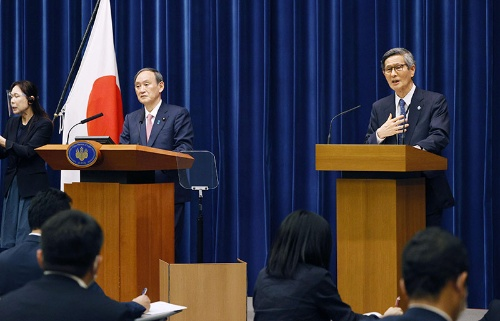 菅義偉首相と尾身茂氏の関係は今、どうなっているのか(写真=共同通信)