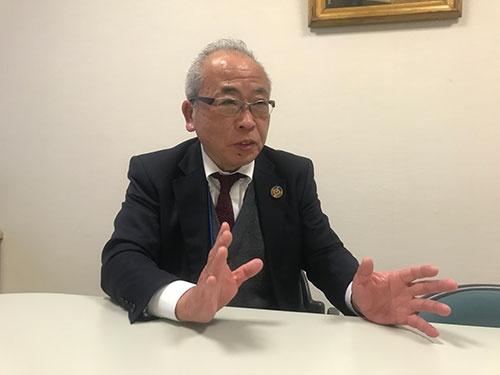 「三方よしに明日によしという概念を入れるべきだ」と語る滋賀経済同友会の藤野副代表幹事