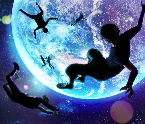 ソニーは人工衛星を通じ、宇宙から地球を眺める体験に近づくことで、人の感性が刺激されるのではないかと期待している(画像:ソニー提供)