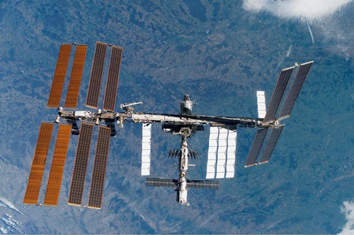 ISSは老朽化が課題になっている。日本は実験棟「きぼう」を持っている(写真:NASA提供)