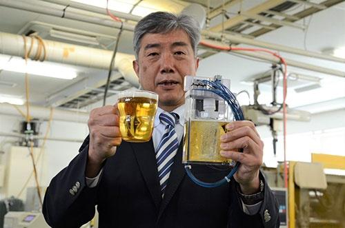 高砂電気工業は無重力下でビールを醸造する技術を開発している