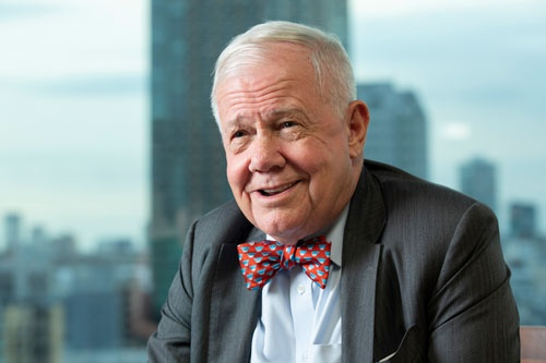 ジム・ロジャーズ氏。若き日に知人と設立したヘッジファンドを通じて驚異的なリターンを達成し、「伝説の投資家」となった(写真:的野 弘路)