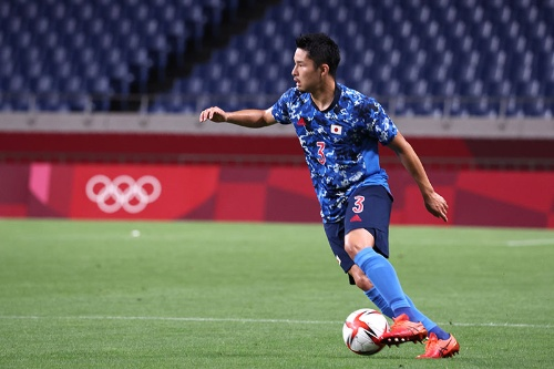 東京五輪でも活躍した中山選手。ワールドカップ・アジア最終予選でも代表に選ばれている(写真:青木紘二/アフロスポーツ)