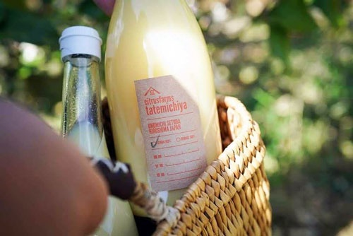 レモン100%の果汁。レモネードなどのドリンクや料理にも使われる。